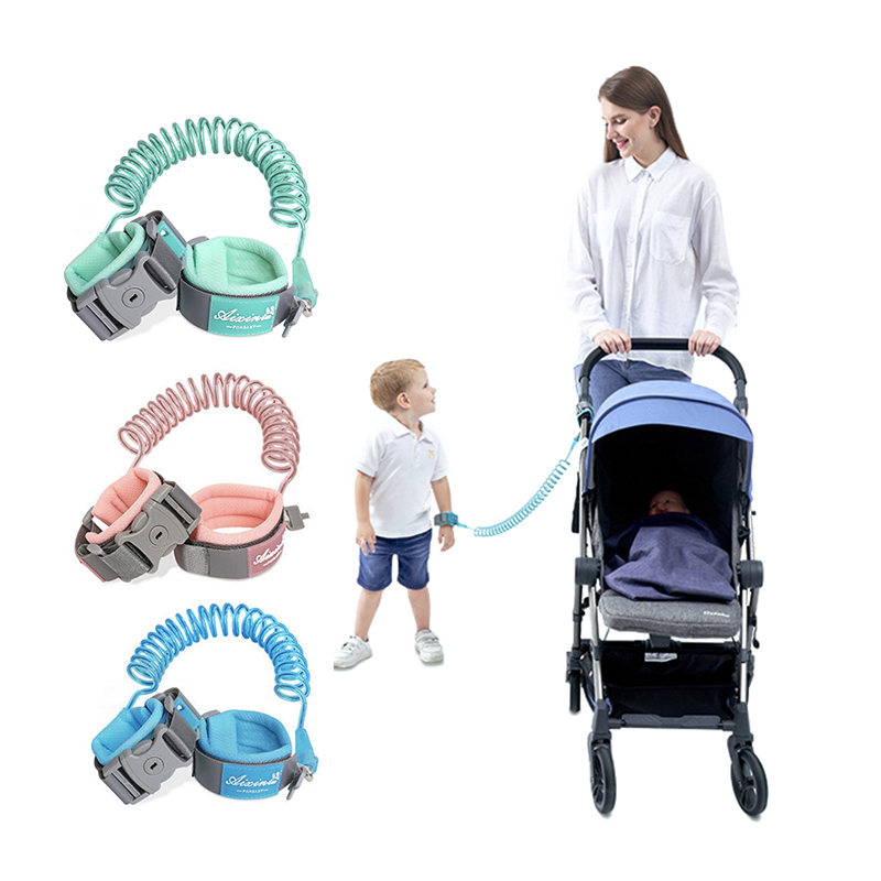 360 Toddler Baby Safety Harness Leash Kid Anti Lost Wrist Traction Rope Band Baby Walker  Walking Hand Belt  Child Harness