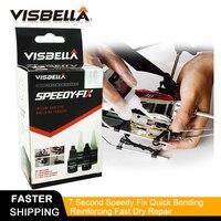 Visbella Powerful Repair Speedy Rapid  Fix General Purpose Super Fsat Dry Glue Reinforcing Adhesive From America