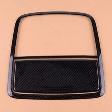 DWCX ABS углеродное волокно стиль автомобиля передний светильник для чтения крышка лампы отделка Литье Подходит для Honda Accord
