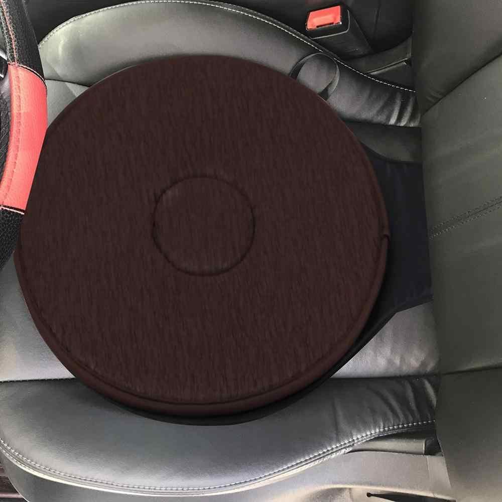 Obrotowy samochód 360 stopni siedzenia stary człowiek samochód przenośny obrotowy poduszki kobiety w ciąży miękka poduszka profesjonalnego
