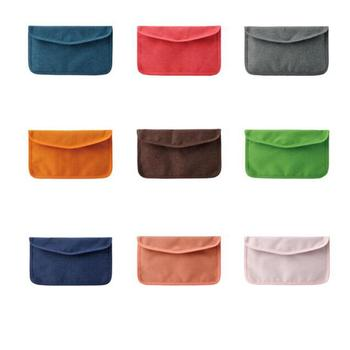 Foldable Mask Storage Bag Portable Masks Storage Organizer For Outdoor Dustproof Storage Pouch Disposable Masks Storage Bag