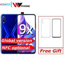 global version Honor 9x Smart Phone 48MP triple Cameras 4000mAh 6.59 inch Full Screen GPU Turbo MobilePhone