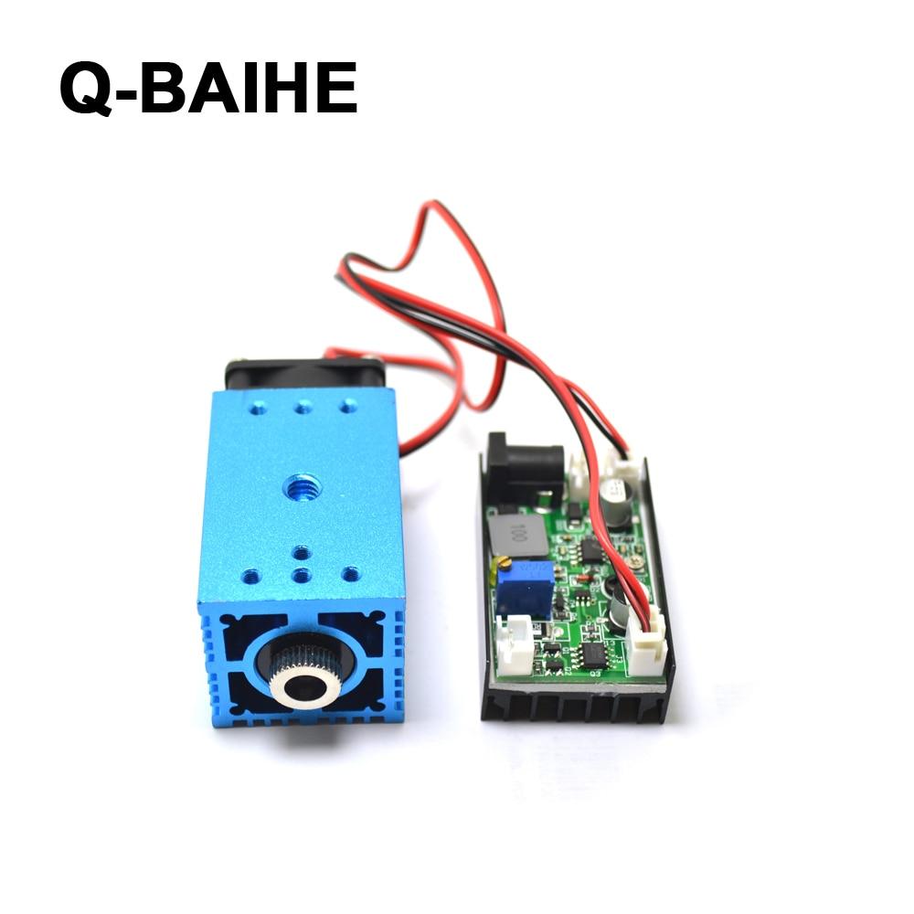 12V 488nm 60mW регулируемый синий свет точка сцены/линия/Крест лазерный модуль