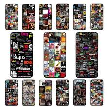 LVTLV Classic Rock And Roll albumy Collage by 2018 etui na telefon do Samsung note 3 4 5 7 8 9 10 10pro plus M10 M20 Case(China)