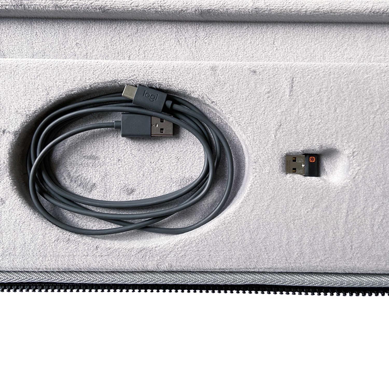 2020 nowa twarda obudowa EVA dla Logitech MX Keys zaawansowana bezprzewodowa podświetlana klawiatura