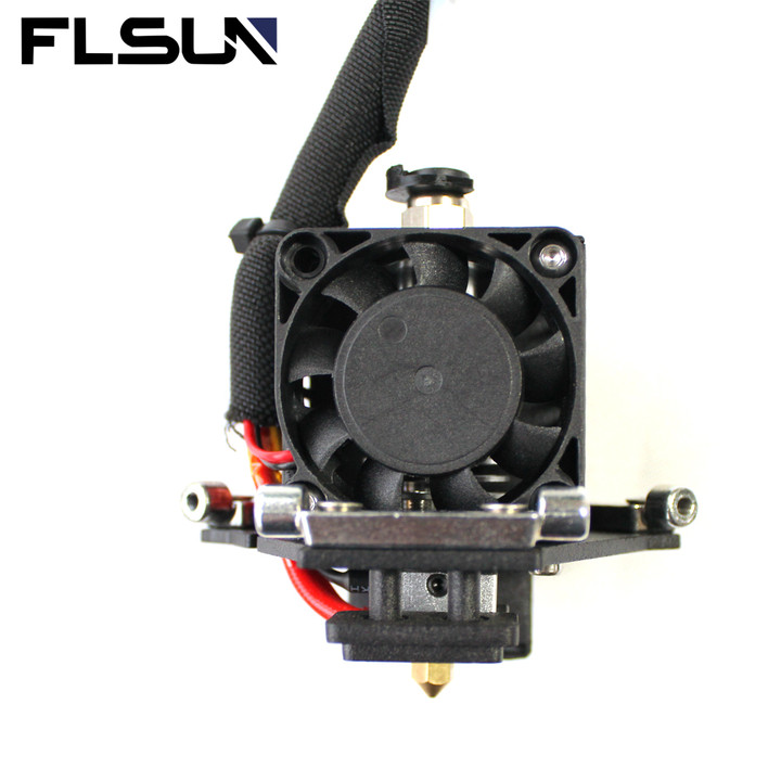 FLSUN 3D Printer Parts 1.75mm Filament with V6 heat-end with 0.4mm Brass Nozzle 24V Cooling Fan effe