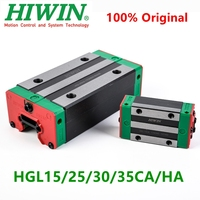 Original HIWIN linear carriage block HGL15CA HGL25CA HGL15CA HGL30CA HGL35CA HGL25HA HGL30HA HGL35HA for HGR guide rail CNC part|Bearings| |  -