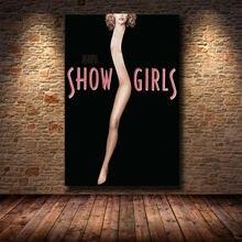 Постер классического фильма шоу Девушки Сексуальная женщина