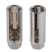 GTBL 2Pcs 22 Milímetros Sensor De Oxigênio Carro 1/2 polegada Unidade Universal Chave Soquete Ferramenta de Instalação de Remoção de Ferramentas Especiais Para carro Repairin|Chave ingl.| |  -