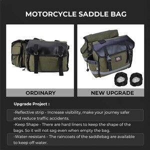 Image 2 - Narzędzie motocyklowe torba siodło torby bagażowe dla Touring Road King Electra przemieszczanie się po ulicy Softail BREAKOUT Sportster 883 1200