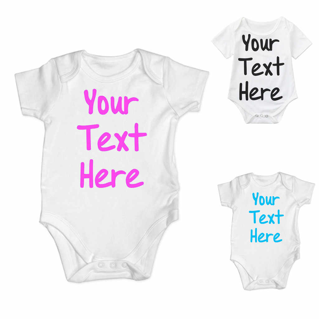 Baby Girl Boy Bodysuit Lovely Printing Jumpsuit Cotton Funny Cute Daddy Play Game Kawaii Short Sleeve Letter Clothes 2020