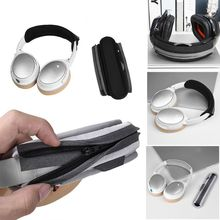 Universal fully enclosed headphone head with cover zipper pad protection 3XUE