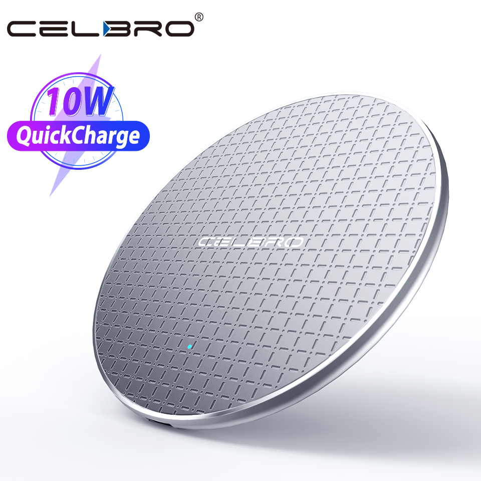 Wireless-Charger Fast-Charging-Pad Airpods Pro iPhone 11 10-W Qi for Max-X-Xs XR 8-10w title=