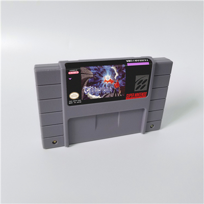 Terranigma - RPG Game Card US Version English Language Battery Save