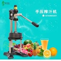 Manual de frutas juicer trabalho espremedor de suco de laranja romã máquina de suco casa comercial máquina da imprensa