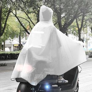 Image 5 - MI Mijia Qualitell EVA imperméable vélo imperméable capuche Poncho de pluie à capuche pour Scooter moto vélo hommes femmes housse de pluie