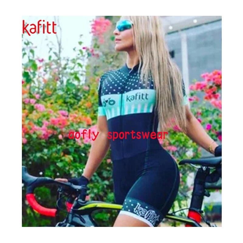 Macaquinho Ciclismo das mulheres triathlon manga curta camisa de ciclismo define skinsuit maillot ropa ciclismo bicicleta jérsei roupas ir macacão macacão ciclismo feminino kafitt conjunto ciclismo roupa de ciclismo 20