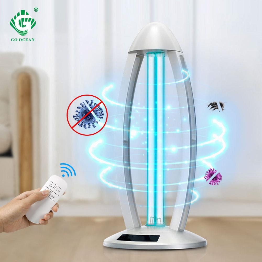 Ultraviolet Sterilizer Light 38W 110V 220V Germicidal UVC Disinfection Lamp Kill Mites 253.7nm Bactericidal Lights Sterilization