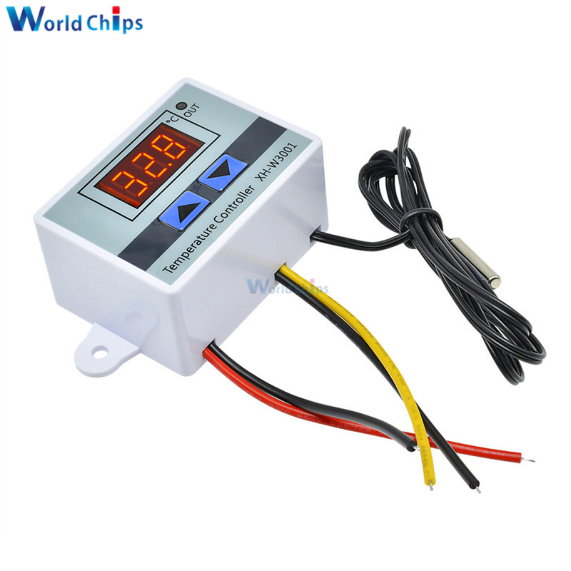 W3001 220V 10A Digital LED Temperature Controller Thermostat Control Switch
