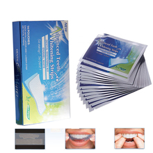 2/6/10pcs Advanced Teeth Whitening Strips Stain Removal for Oral Hygiene Clean Double Elastic Dental Bleaching Strip
