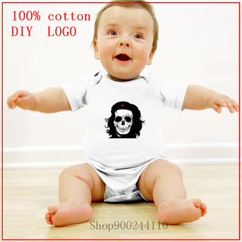 2020 Unisex Newborn Boys Girls Bodysuits baby Skull Tribute Design Che Guevara new born baby boy clothes 3 to 6 months Rompers image