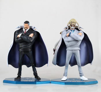 1 Pcs Anime One Piece Marine Vice Admiral Monkey D Garp POP Collectible Action Figures PVC Model Toys For Christmas Gifts 23 CM 1
