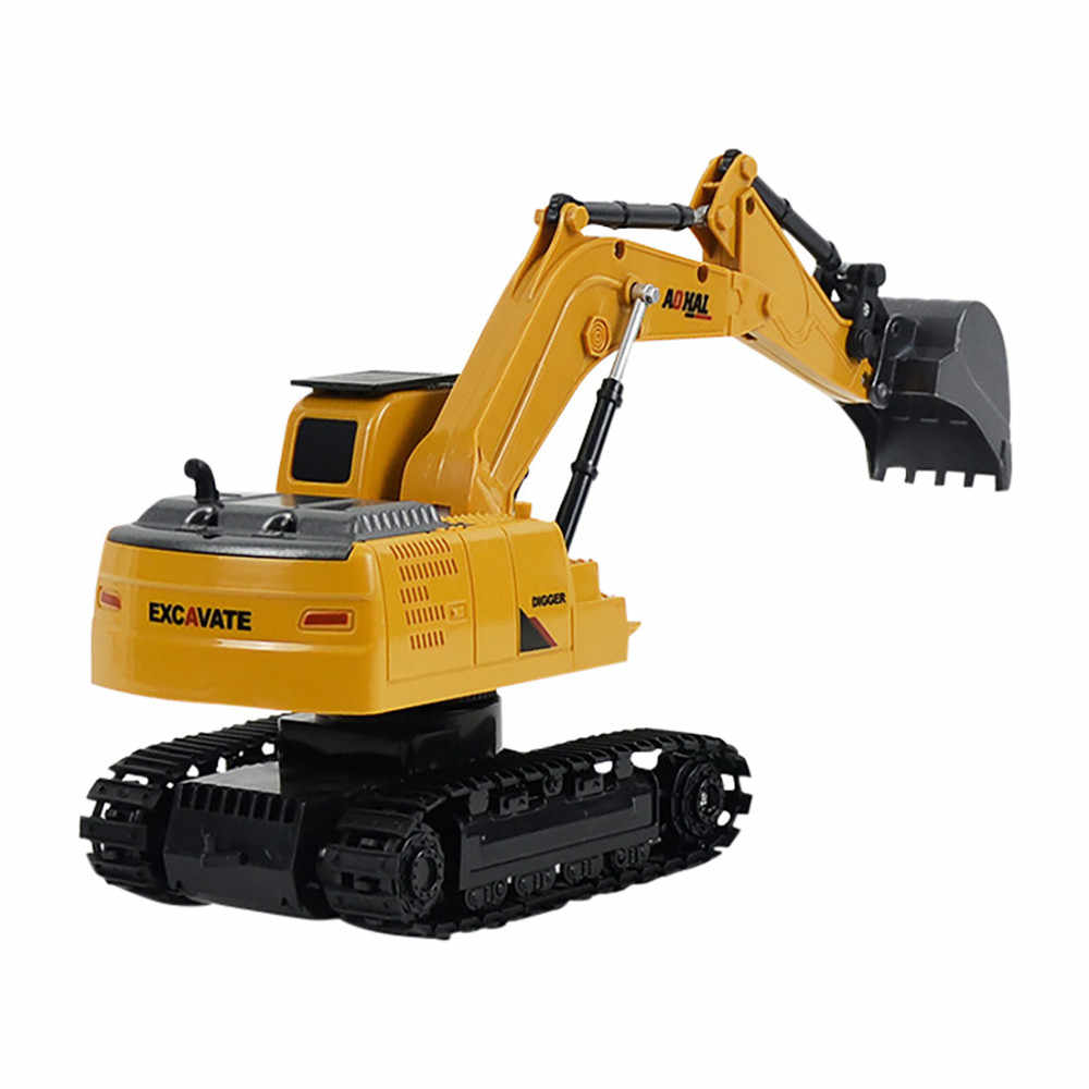 1:24 Remote Control Excavator Vehicle electric toy Mini RC Truck car model Simulated Excavator Gift Toy for Kids control toy car