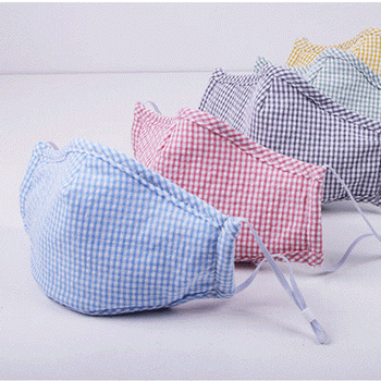 2pcs/lot Classic Plaid Printed Masks Outdoor Adult Protective PM2.5 Dust Mouth Cover Washable Reusable Unisex Face Shield