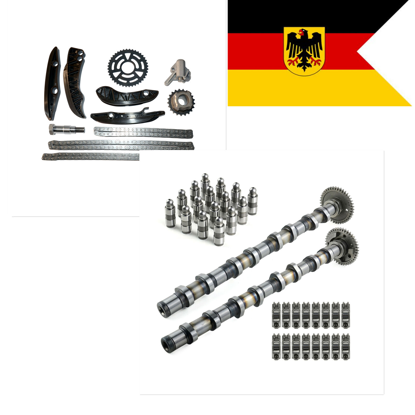 AP03 Camshaft KIT + TIMING CHAIN KIT N47 For BMW 1, <font><b>3</b></font>, 5, X1, X3 N47D20C N47D20B image