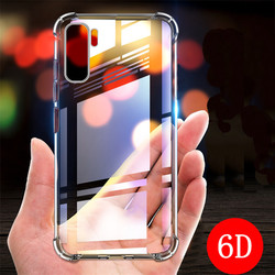 6D Anti-Knock TPU Case for Huawei Nova 7 Pro 6 SE 7i 5Z 5T 5 5i Pro 4 4E 3 3i 3E Mate 40 Pro 30 20 Lite Clear Phone Cover Cases