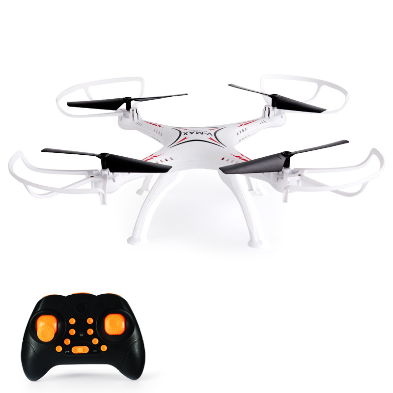 New Style Remote Control Unmanned Aerial Vehicle Large Remote Control Chargeable Model Airplane Toy Airplane Four-axis Aircraft
