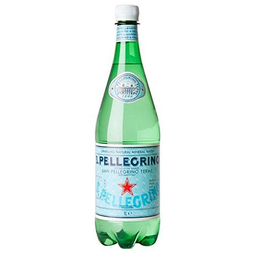 San Pellegrino Sparkling Natural Mineral Water (1 L) - Packung Mit 2