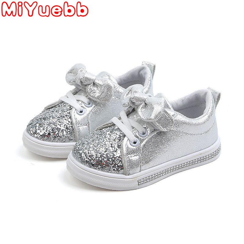 Kids Leisure Sneakers Rubber Non-Slip Children'S Shoes Bow Canvas Children Shoes Sneakers 2020 Spring And Autumn New Sneakers