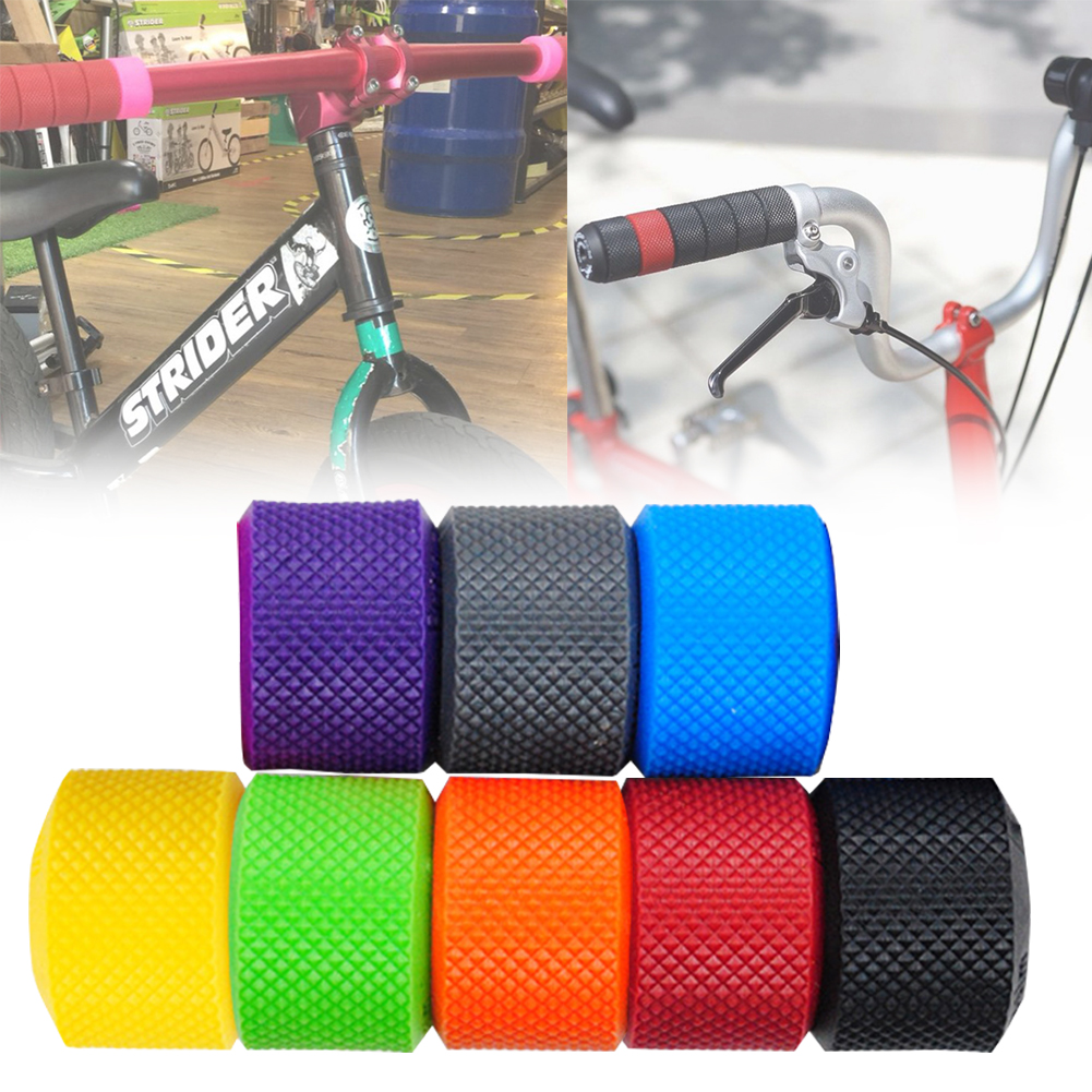 Bicycle Accessories 22 Mm Handlebar Grip Ring TPR Rubber Non-Slip Grip For BMX Kids Tricycles