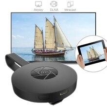 G2 беспроводной дисплей WiFi ключ HDMI адаптер Портативный ТВ приемник 5G WiFi 4K 1080P Airplay ключ Зеркало экран Поддержка Miracast