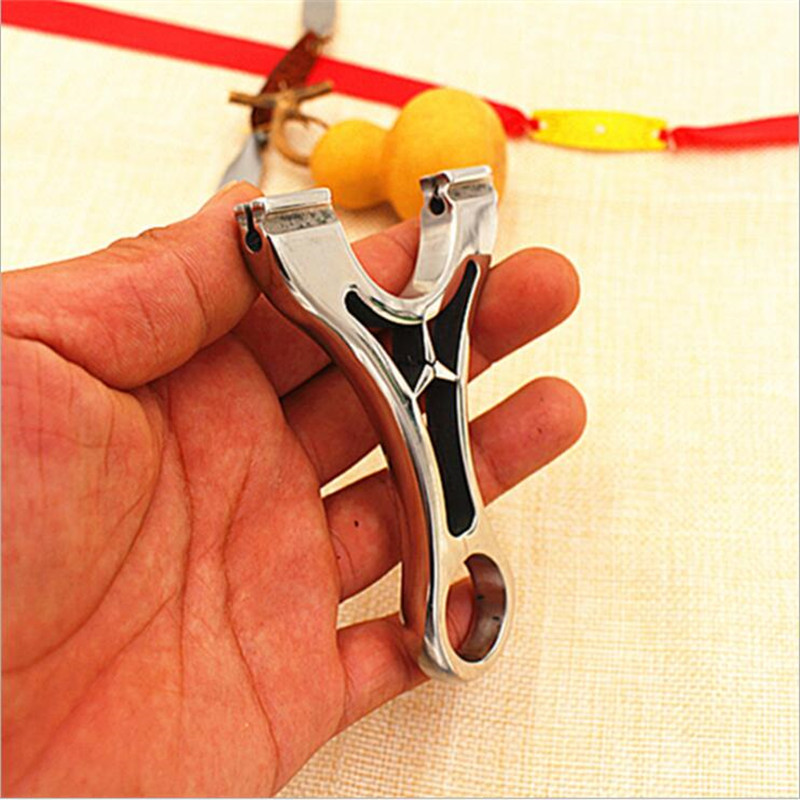 Mercedes-Benz Top 304 Stainless Steel Wire Cut Flat Leather Free Tied Slingshot Outdoor Recreational Sports Shooting