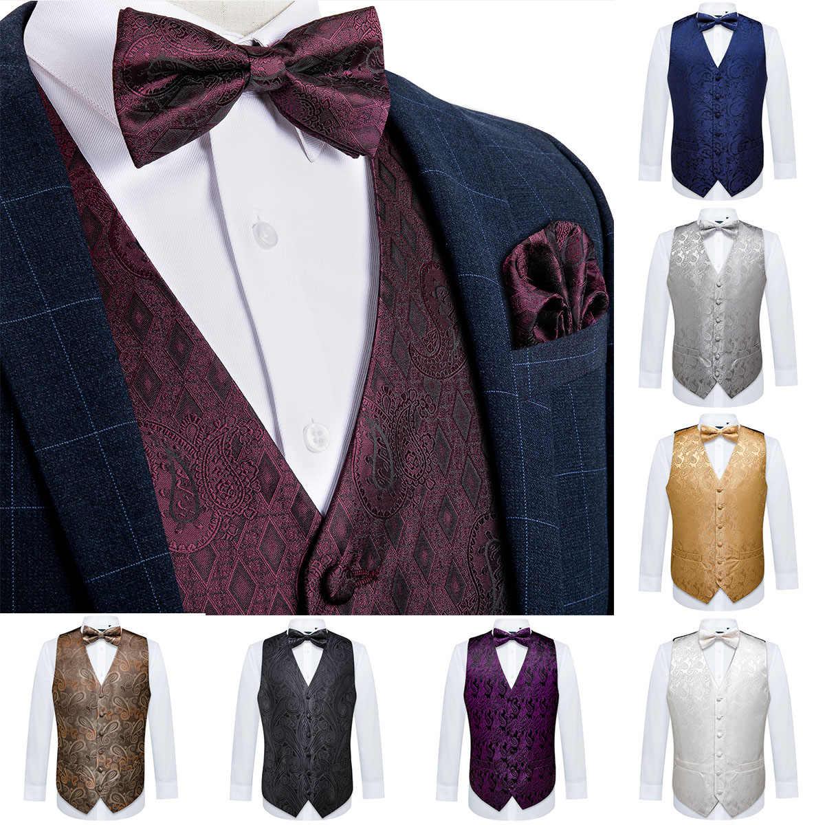 Mens Dress Vest /& BowTie Solid PEACH Color Bow Tie Set for Suit or Tuxedo