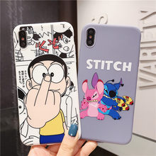 Bonito encantador Dos Desenhos Animados Doraemon Ponto caso de telefone tampa do telefone para o iphone 7 8 6 6s S Plus X XS MAX XR mini adorável anime fundas(China)
