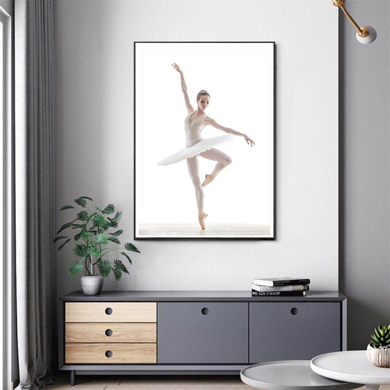 DIY 5D Diamond Painting Full Square Ballet Gesture Diamond Mosaic Cross Stitch Drill Rhinestone Painting Set Decoration Gift in Diamond Painting Cross Stitch from Home Garden
