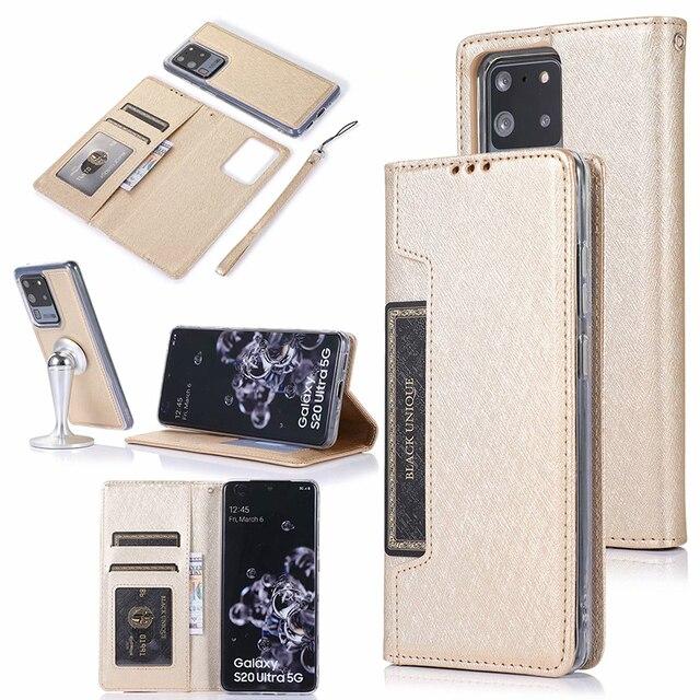 隠し回転カードホルダーサムスン注 10 プラス 10 + 8 9 S8 S9 S10 プラス S7 エッジフリップレザー携帯ケースカバー