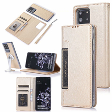 Detachable Wallet Flip PU Leather Case For Samsung S20 Ultra S10 S9 S8 Plus Note 10 + 9 8 S7 Edge Magnetic Business Phone Cases