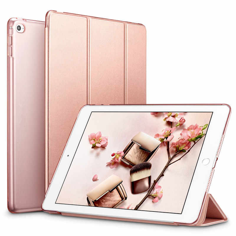 Tablet Smart Leather Stand Case Cover for Apple Ipad Air 2 Air2 PU Wake for I Pad 6 Sleepcover Ipadstand Sleeve Skin A1566 A1567