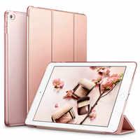 Tablet Smart Leder Stehen Fall Abdeckung für Apple Ipad Air 2 Air2 PU Wake für I Pad 6 Sleepcover Ipadstand hülse Haut A1566 A1567