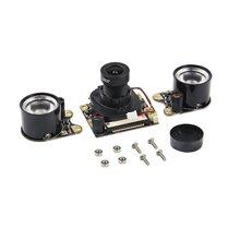 Для камеры Raspberry Pi3 5 Мп веб-камера Встроенный ИК-режим переключения дневного ночного видения режим съемки для Raspberry Pi 3B/3B+/Pi 2B B