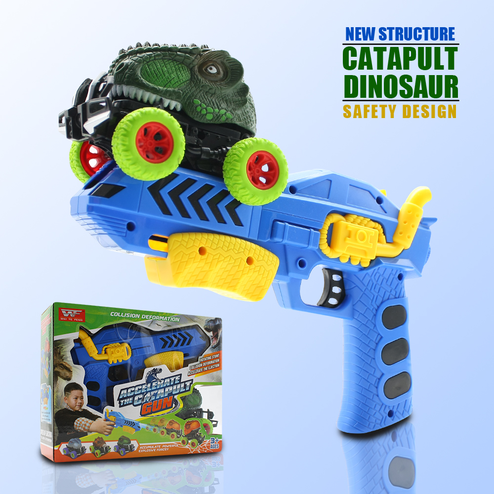 Dinosaur High-quality Children's Day Gift Toy Model Mini Toy Car Back Of The Car Gift Truck Hobby
