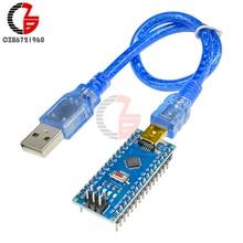 Mini USB CH340 CH340G Nano V3.0 ATmega328 16M 5V Микроконтроллер плата для Arduino с USB кабелем
