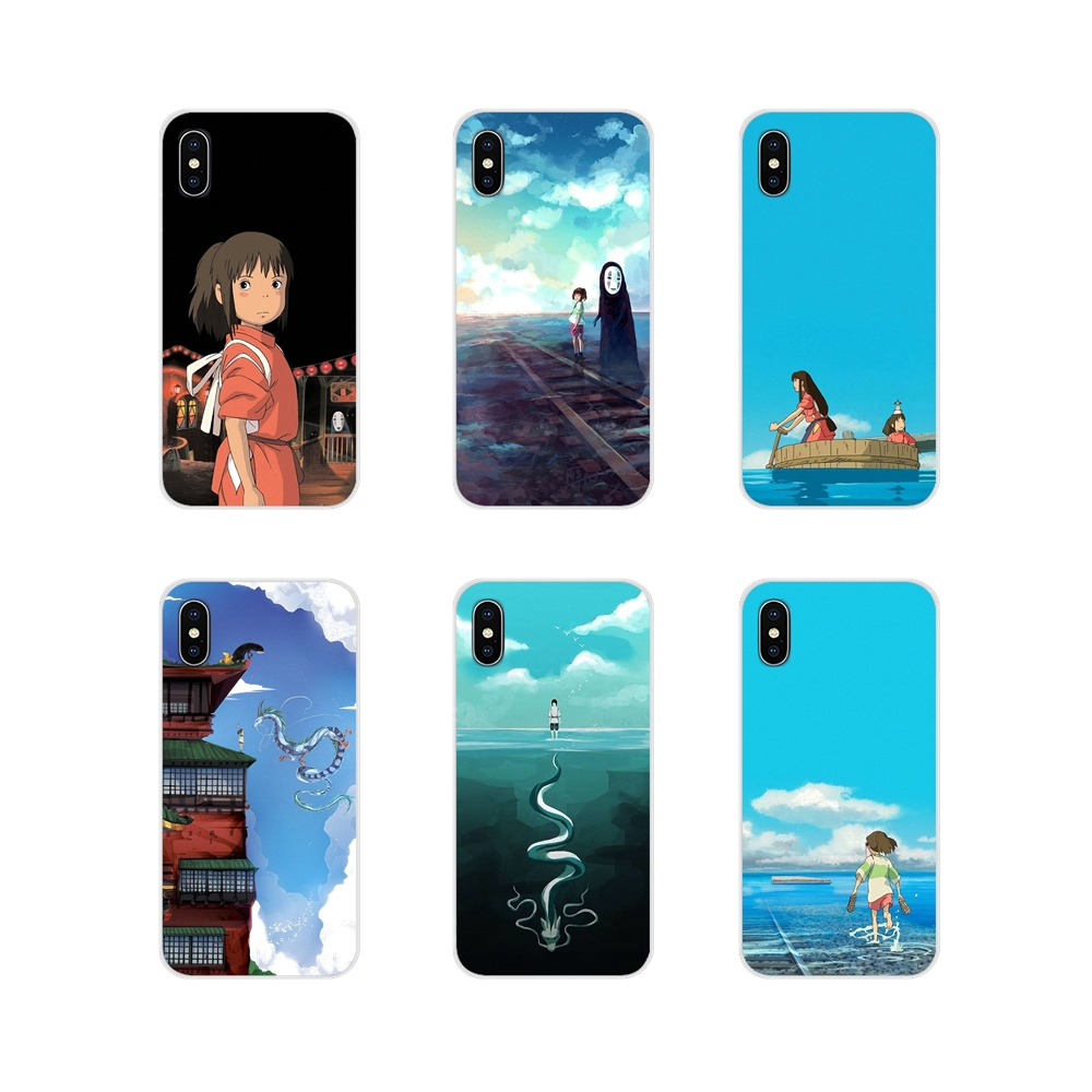 Cell Phone Case Cover For Samsung Galaxy A3 A5 A7 A9 A8 Star A6 Plus 2018 2015 2016 2017 Studio Ghibli anime Spirited Away anime image