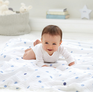 120 * 120cm Baby Blankets Newborn 100%Cotton Winter Baby Muslin Squares Baby Bath Towel Blanket Receiving Blanket Swaddling