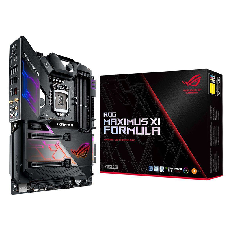 ASUS Maximus XI Formula Player Country Computer Game Board Z390 M11F 1151pin Support I9 9900K 9700K Used Like New