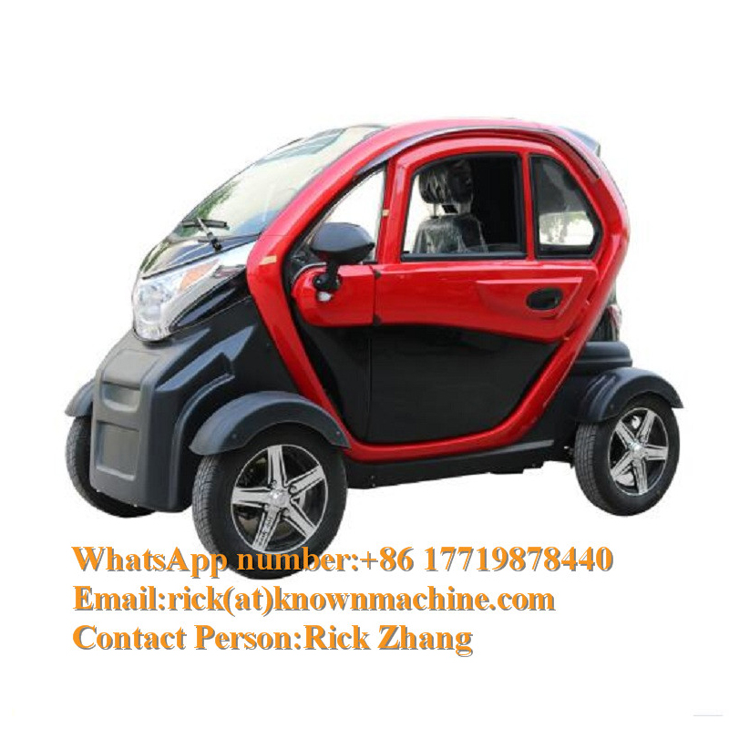 3 Seaters Newest Popular Chinese Electric Classic Car /Mini Electric Car With Free Shipping By Sea
